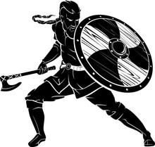 Viking Battle Stance