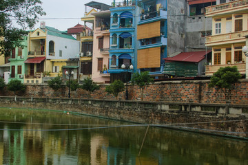 Fototapeta na wymiar I went to Vietnam for a trip.