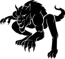 Werewolf Crouching