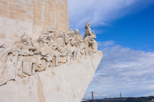 Padrao Dos Descobrimentos (Monument To The Discoveries) In Lisbon, Portugal