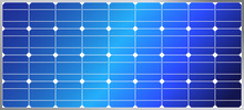 Solar Energy Panel With Solar Cells For Green Planet