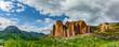 Los Mallos de Riglos Felsen bei Husesca in Nordspanien