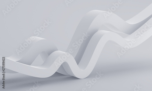Abstract 3d Render Minimalistic Background Modern Graphic