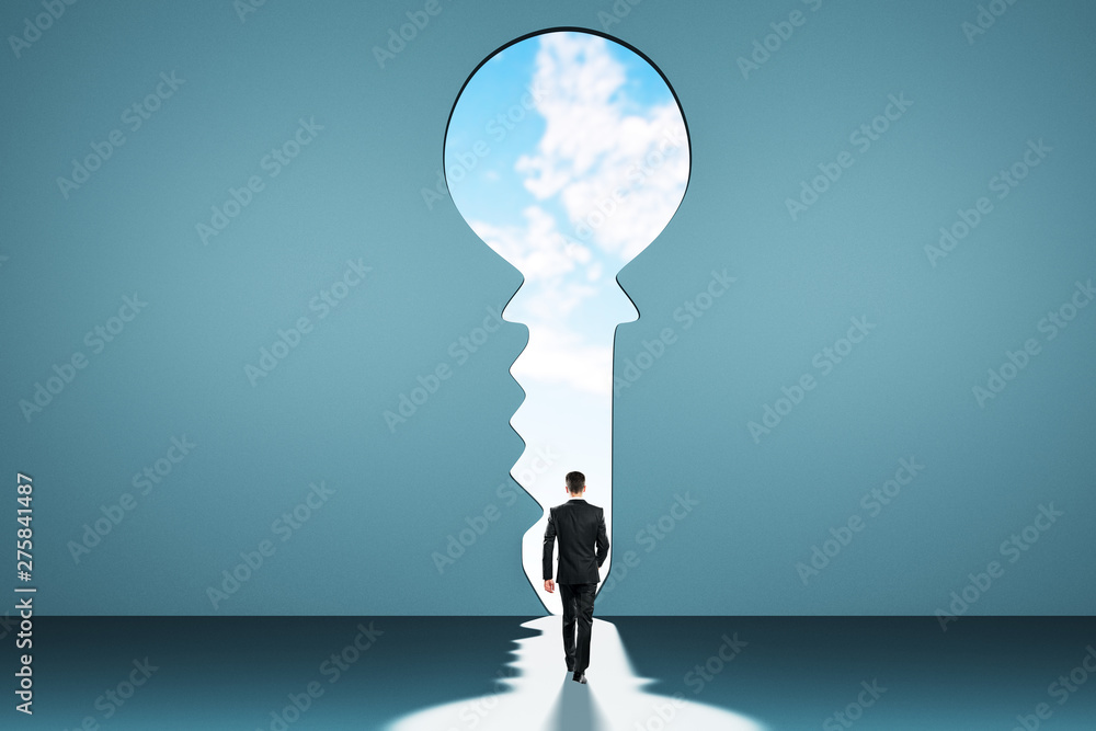 Fototapeta Access and success concept