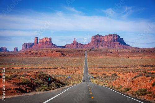 Obraz Monument Valley Navajo Tribal Park , Arizona, Utah, USA - fototapety do salonu