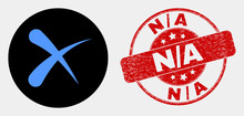 Rounded Erase Icon And N/A Sta...