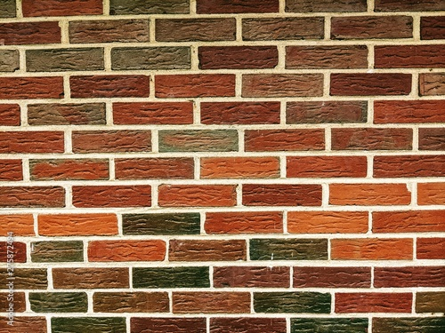 Red Brick background or texture.