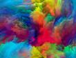 canvas print picture Colorful Paint