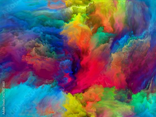 Obraz Colorful Paint - fototapety do salonu