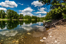 Spokane River Near Post Falls, Idaho