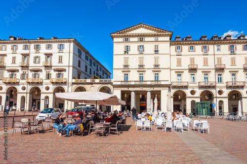 Piazza Vittorio Veneto Square, Turin