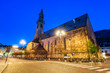 canvas print picture - Bolzano Cathedral in South Tyrol