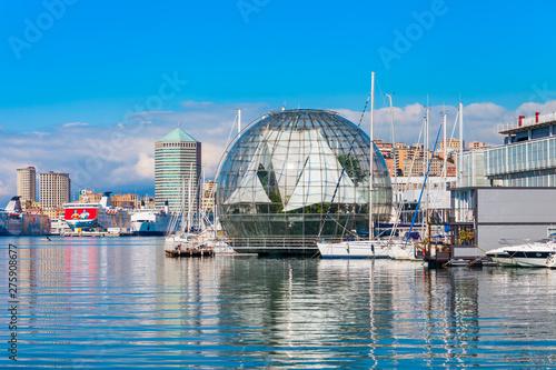 Genoa Aquarium, largest in Italy Fototapeta