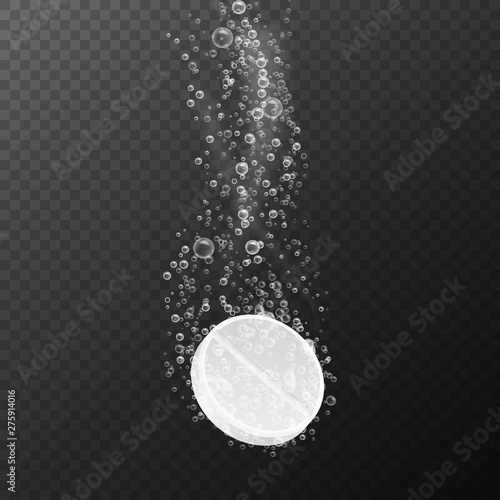 Photo Tablet with bubbles