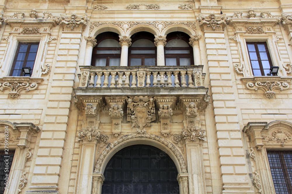 Fototapety, obrazy: balcon à Lecce