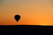 Cappadocia / Turkey, June 8, 2019, Urgup, Goreme, Nevsehir, balloons landscape