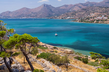 Spinalonga Island In Elounda B...