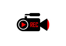 Icon Of Camcorder Recording On...