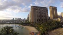 Waikiki Beach Time Lapse
