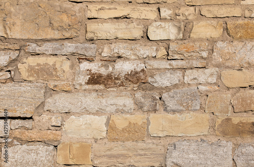 Wall Murals Old dirty textured wall Old stone texture close-up