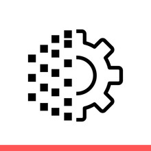 Digital Transformation Vector Icon