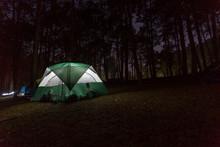 Holiday Night Camping At Pang Ung  Maehongsorn Thailand