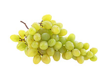 Bunch Of Grapes With Water Dro...