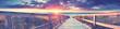 Leinwandbild Motiv Panorama am Strand