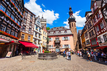 Central Square In Cochem, Germ...
