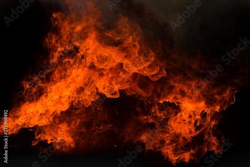 Canvas Prints Fire / Flame blaze fire flame texture background