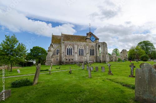 Vászonkép Ancient Church at Winchelsea, East Sussex, UK