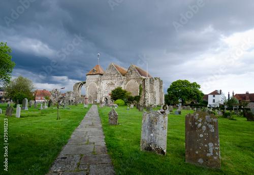 Fényképezés Ancient Church at Winchelsea, East Sussex, UK