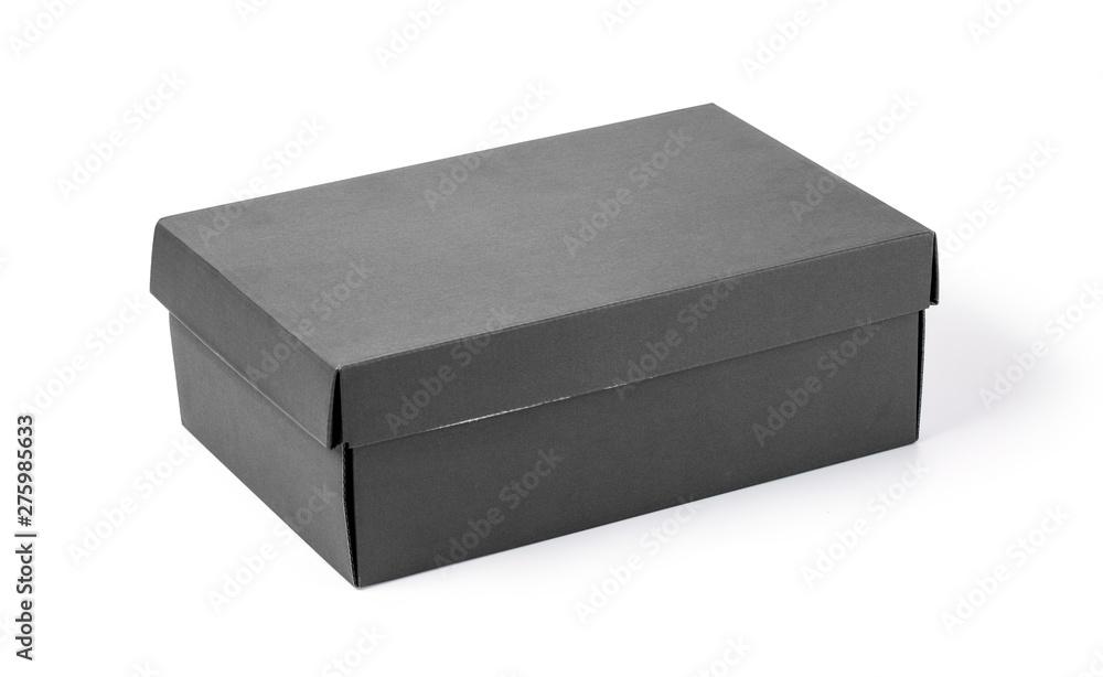 Fototapety, obrazy: Gray box isolated on white