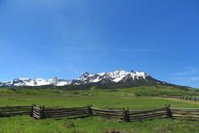 Ridgeway To Last Dollar Rd To Telluride Colorado