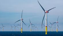 Windpark Im Meer Offshore Windkraftanlage