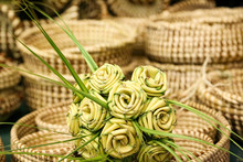 Bouquet Of Palmetto Roses In A...