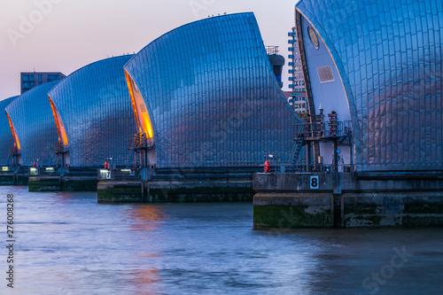 Fotografía Thames Barrier, the world's second largest movable flood barrier