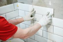 Tiler Installing Metro Tile On...