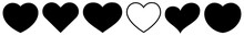 Heart Black | Love | Logo | Va...