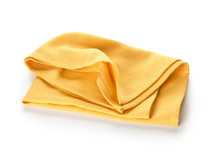 Fabric Napkin On White Background