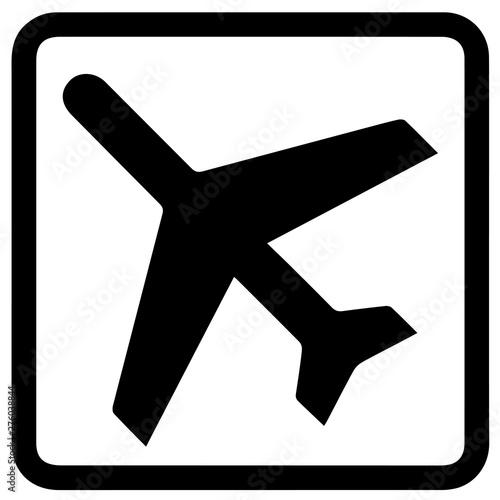 Fotografering  Airport sign