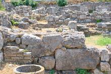 The Ancient Agora Of Kos In Greece