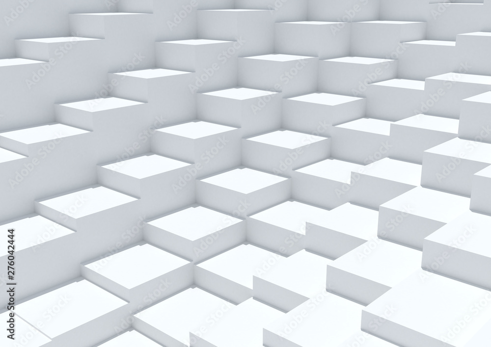 Abstract Cubes Background.