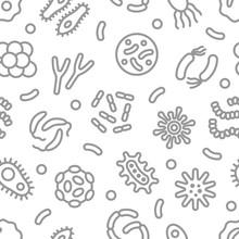 Bacteria, Microbe, Virus Outli...