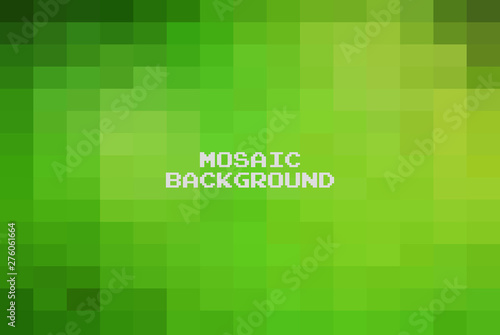 Photo Abstract Green geometric Background, Creative Design Templates