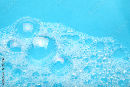 Background soap suds (foam) and bubbles from detergent Canvas-taulu
