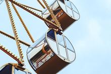 Ferris Wheel Cabin Close-up. Entertainment