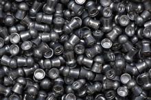 Pile Of Lead Air-gun Pellets