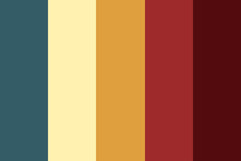 Color Schemes Combinations Palettes. Illustration CMYK Colors For Print. Vector Color Palette