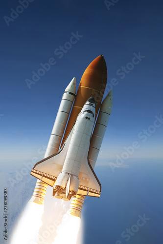 Photo Flying rocket